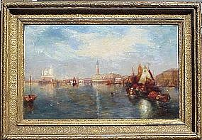 View of Venice: Alfred Pollentine
