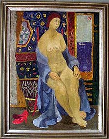 Lady in Matisse Interior: John Ulbricht