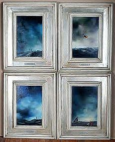 Surrealist Landscapes : Alberto Trevisan