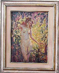 Nude in Forest: Glen Scheffer