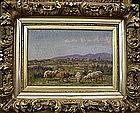 Landscape with Sheep: William B Baird
