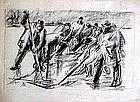 Men Ice Fishing: Robert Von Neumann