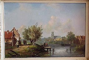 River View in Holland: Charles Leickert