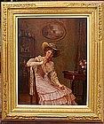 Portrait of Lady: Alois H.  Priechenfried