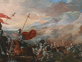 Soldiers in Battle: Circle of Pandolfo Reschi