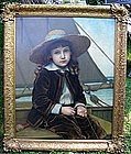 Victorian Child in Fishing Boat: Phoebe Jenks