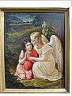"""""""The Guardian Angel by J Meyer Von Bremen"""