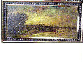 Harbor at Dusk by Charles P. Appel