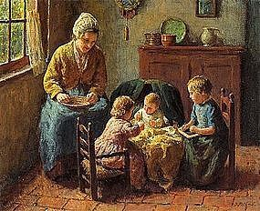 Mother with Children: Bernard Pothast