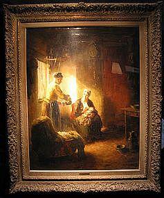 Nanny & Mother With Baby: Bernard De Hoog