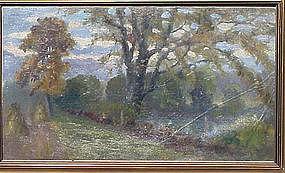 Autumn Landscape, Charles Meurer