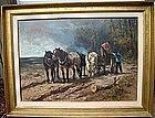 Loggers with Horses: Henry Schouten