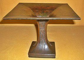 Antique Japanese Bronze Flower Vase C.1847