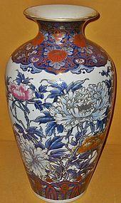 Antique Japanese Meiji Period Large Imari Vase