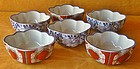 Antique Japanese Hand-Painted Set Dishes c. 1915