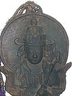 Antique Japanese Buddhist  Goddess of Compassion