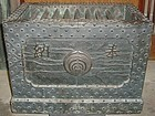 Antique Japanese Bronze Shrine 'Zeni-Bako' Money Box