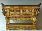Antique Japanese Edo Period Lord's Personal Altar Table