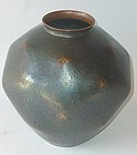 Antique Japanese Signed Gyokusen-do Dochu Flower Vase