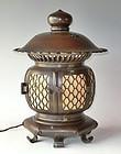 Antique Japanese Zen Buddhist Temple Lantern C.1929