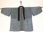 Antique Japanese Sashiko/Kasuri Mingei Jacket C.1900
