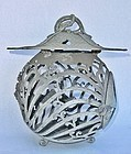 Antique Japanese Bronze Lantern Taisho Period C.1915