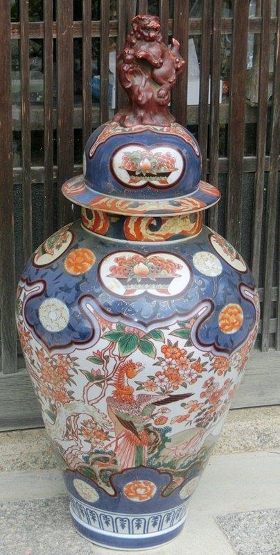 Antique Japanese Meiji Period C1890 Imari Vase Item 1350414