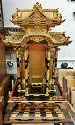 Antique Japanese Zen Buddhist Lacquered  Altar