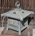 Antique Japanese Large Bronze Hanging Lantern C,1930