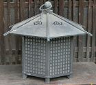 Antique Japanese Bronze Buddhist Temple Lantern C.1950