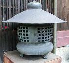 Antique Japanese Bronze Garden Lantern Showa Period C.1950