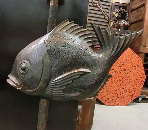 Antique Japanese Jizaikagi Hearth Fish Hook