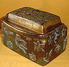 Museum Quality Edo Period Bronze Te-Aburi Hand Warmer