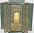 Japanese Antique Zen Buddhist Butsudan Altar