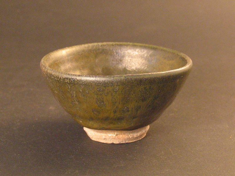 Sabi-karatsu sake cup by Dohei Fujinoki the popular artist KARATSU