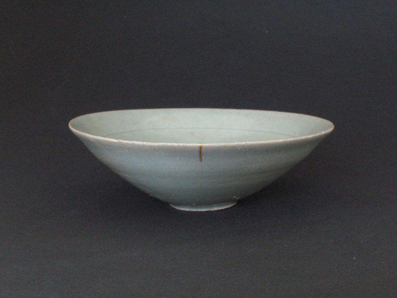 Korean (Goryeo) Celadon Chawan tea bowl