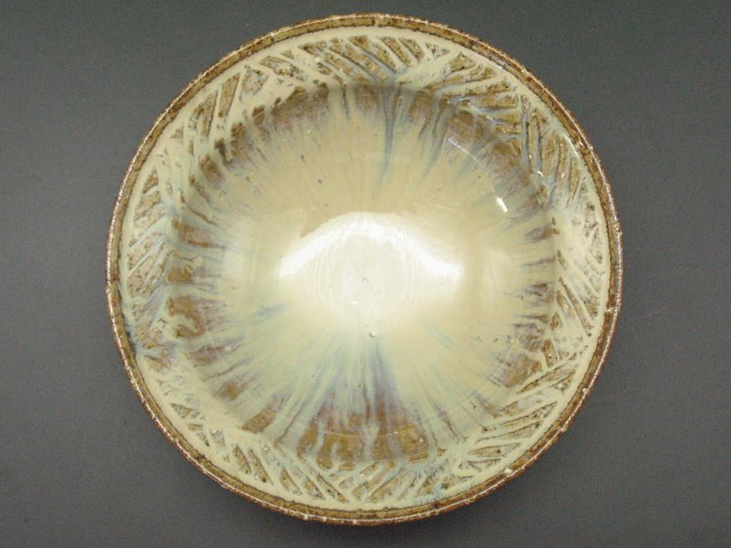 Madara Karatsu small bowl by Dohei Fujinoki popular artist Karatsu