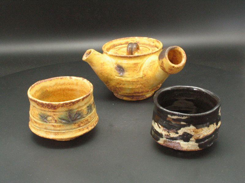 Kiseto Kyusu tea pot by Junri Hamada Expert at Mino pottery