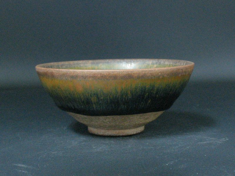 "12~13th century Song dynasty original Jianyao ""Hare's Fur"" small bowl"