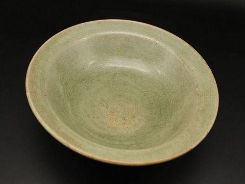 14~15th century Thai Pang kiln Celadon plate