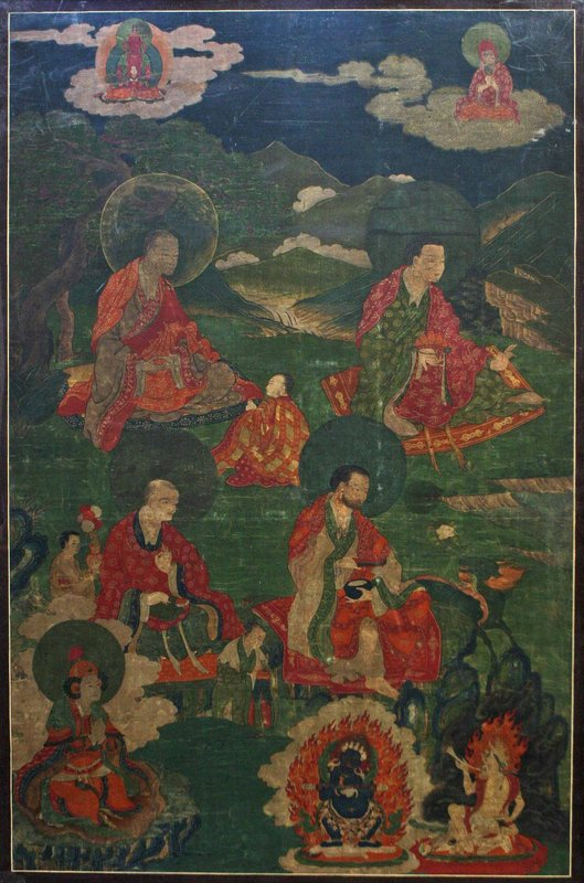 17th Century Tibetan Arahant Thangka