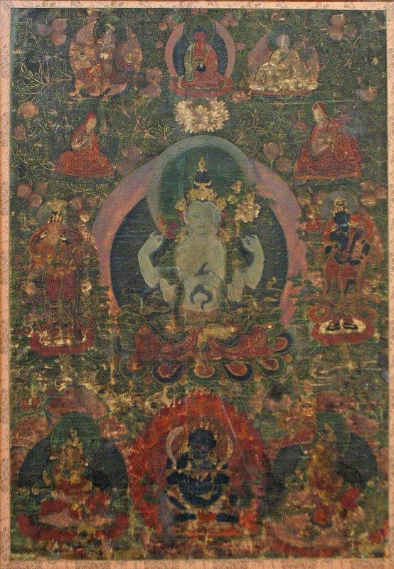 17th Century Tibetan Avalokitesvara Thangka