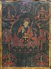 17th Century Tibetan Padmasambhava Thangka
