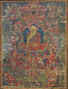 17th Century Tibetan Sakyamuni Thangka