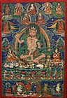19th Century Tibetan Yogin Thangka