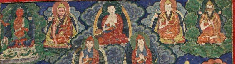 19th Century Tibetan Yogin Thangka
