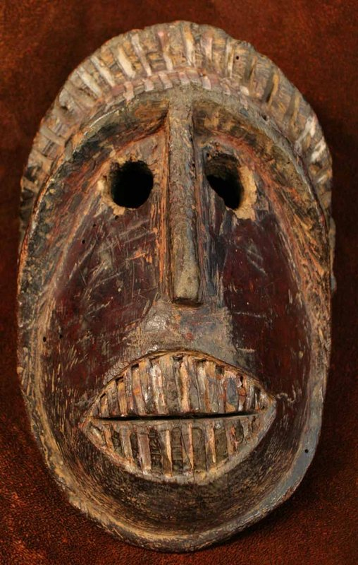 Himalayan Indian Monkey Mask from Himachal Pradesh