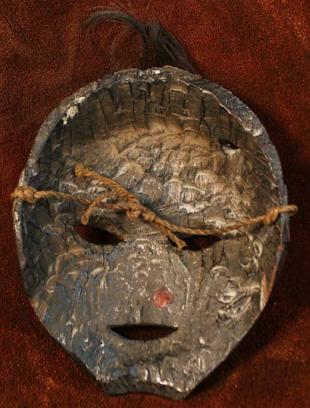 Nepalese Yak Hair Mask from the Humla Region