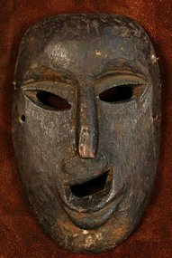 Nepalese Middle Hills Joker Mask