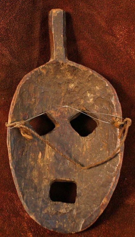 Nepalese Mask of a Humla Aesthete with a Topknot